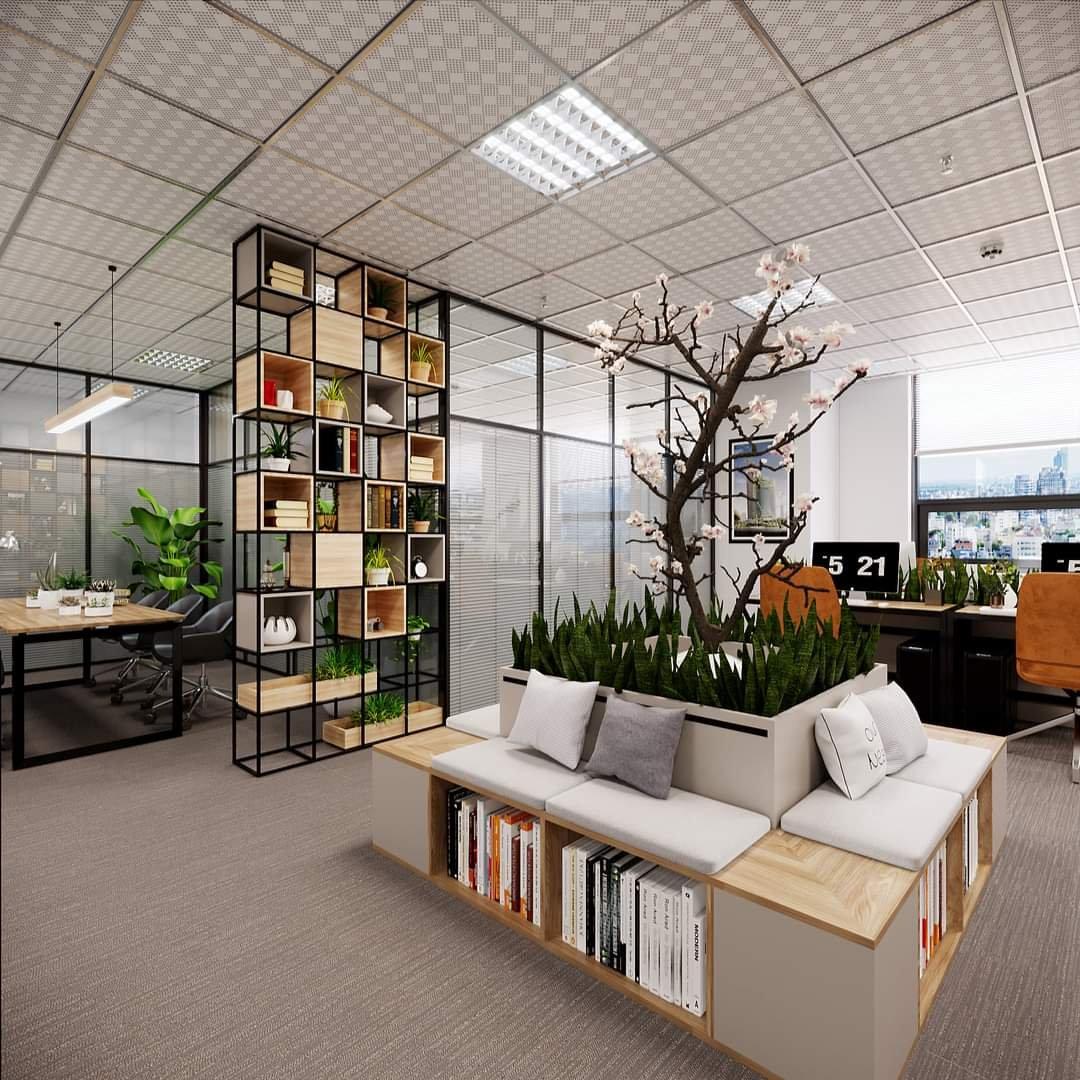 Các mẫu văn phòng nhỏ đẹp năm 2022 cho doanh nghiệp