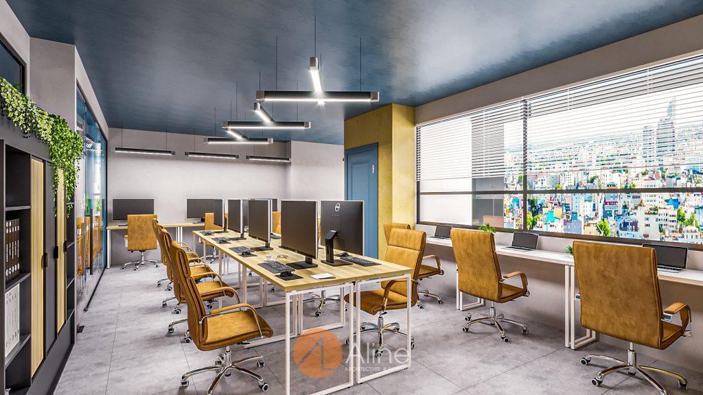 Tư vấn thiết kế nội thất văn phòng