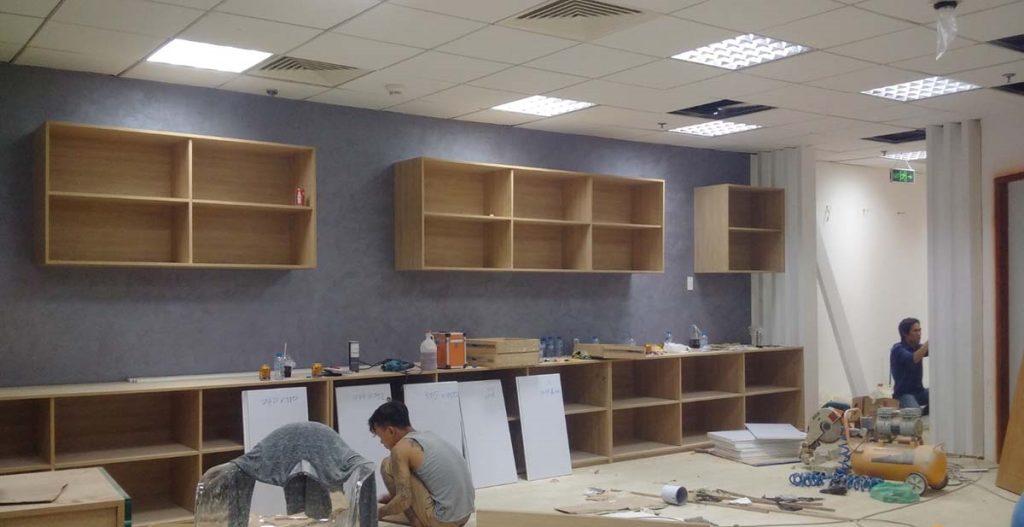 Cải tạo nội thất văn phòng làm việc đẹp, tiết kiệm chi phí