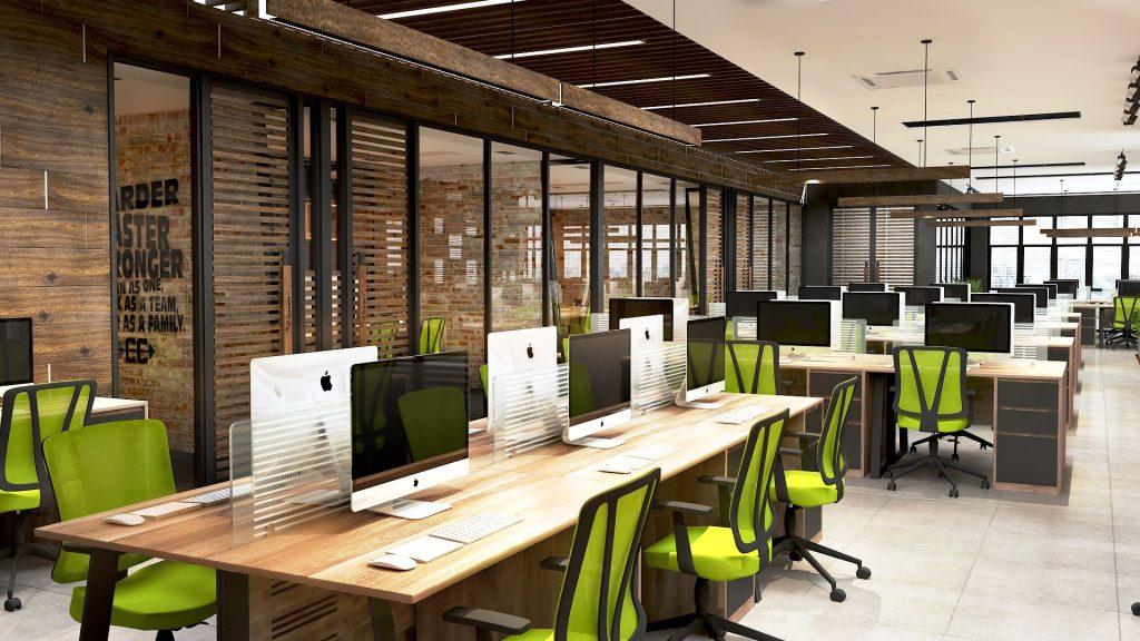Tổng hợp các mẫu văn phòng làm việc hiện đại nhất 2021