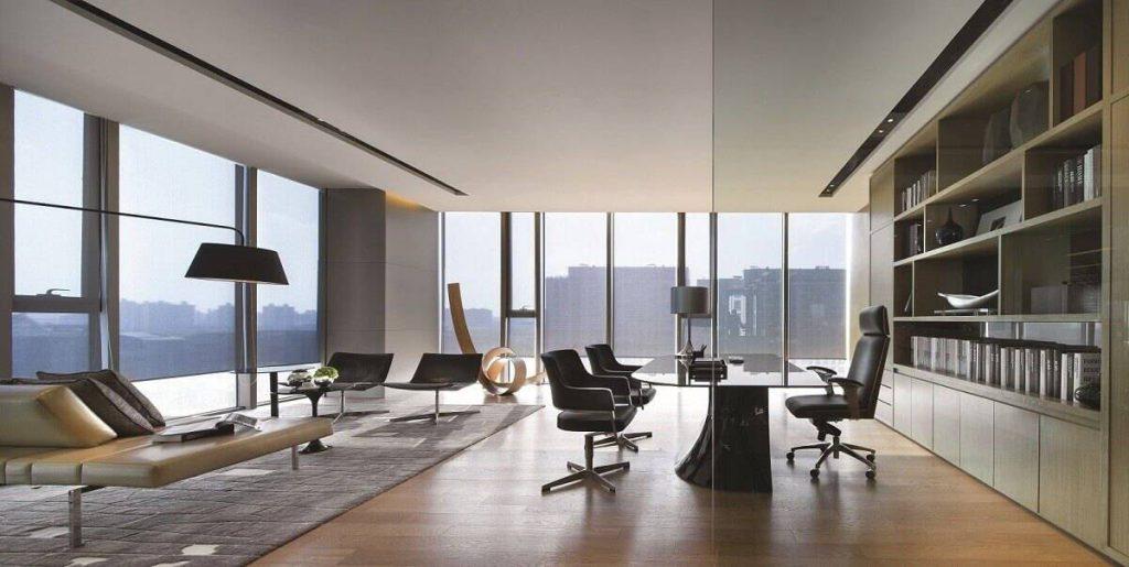 Mẫu thiết kế nội thất văn phòng đẹp - Nội thất phòng Giám đốc