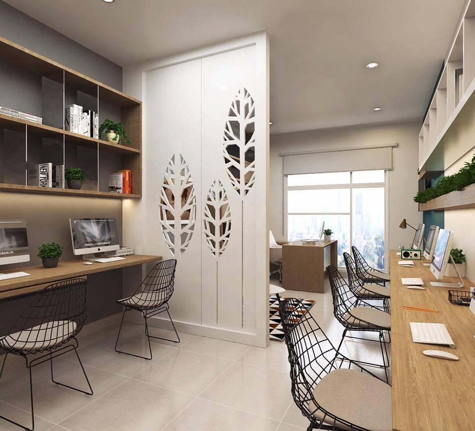 Các mẫu thiết kế văn phòng nhỏ đẹp năm 2022 cho doanh nghiệp