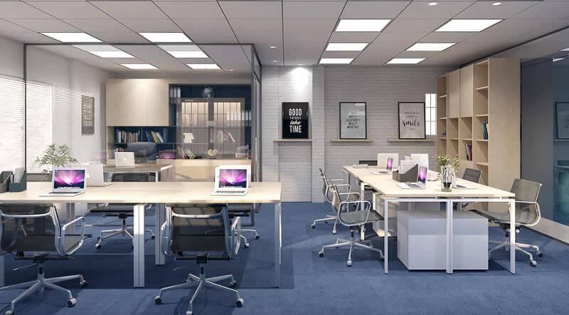Thiết kế phòng làm việc nhỏ đẹp khoa học và hiện đại năm 2021