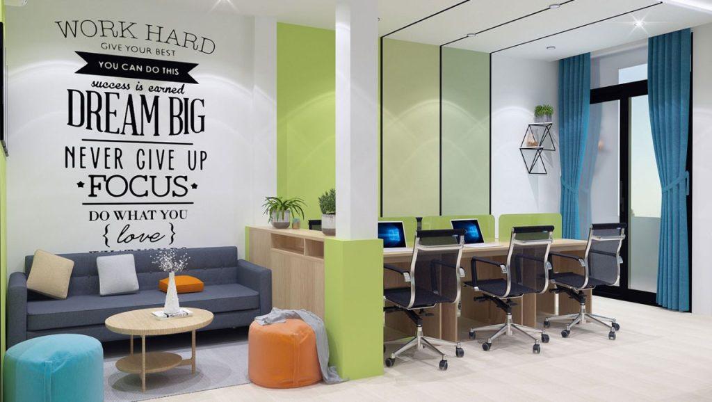 12 mẫu văn phòng đẹp nâng cao hiệu quả làm việc