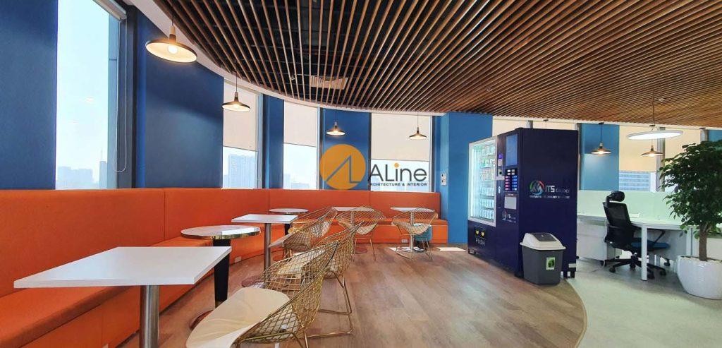 Thiết kế thi công nội thất văn phòng ITS Global