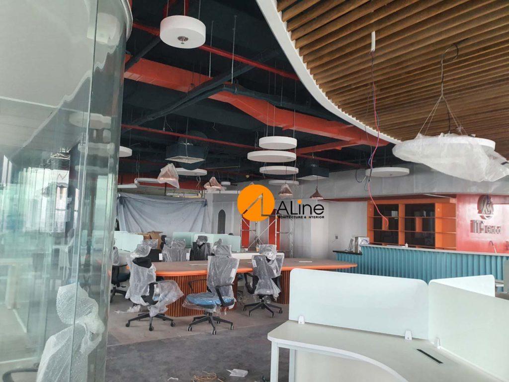 Thiết kế và thi công nội thất văn phòng ITS Global
