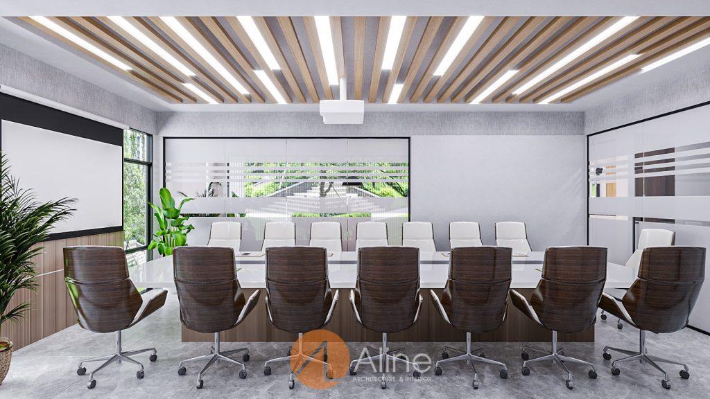 Mẫu thiết kế phòng họp sang trọng của Aline