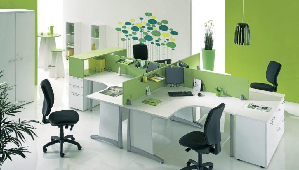 Mẫu văn phòng làm việc của công ty trong chung cư