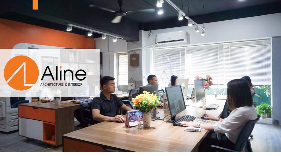 Công ty Aline chuyên thi công nội thất văn phòng tại Hà Nội
