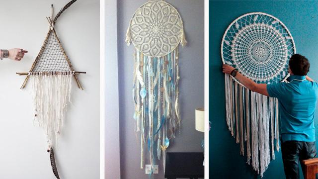 Trang trí phòng làm việc bằng đồ handmade