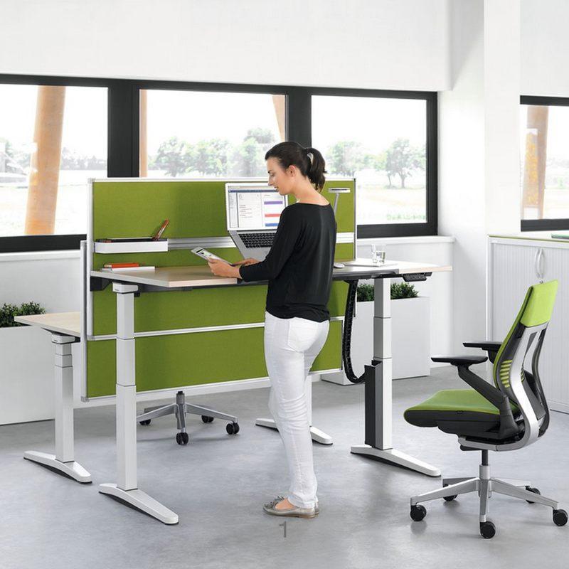 Mẫu bàn văn phòng thiết kế đẹp, thông minh