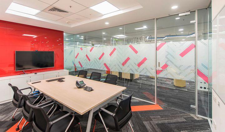 Thiết kế văn phòng làm việc công ty về công nghệ