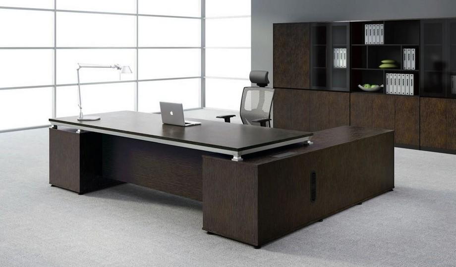 Mẫu bàn văn phòng thiết kế đẹp dành cho Giám đốc số 2