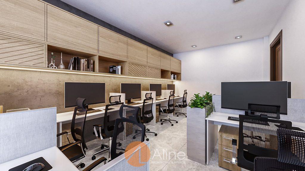 Thiết kế nhà làm văn phòng cho thuê