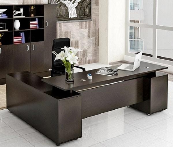 Mẫu bàn văn phòng thiết kế đẹp dành cho Giám đốc số 1