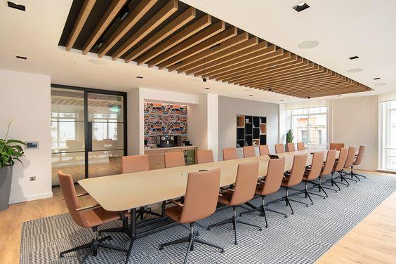 Mẫu thiết kế phòng họp sang trọng số 10