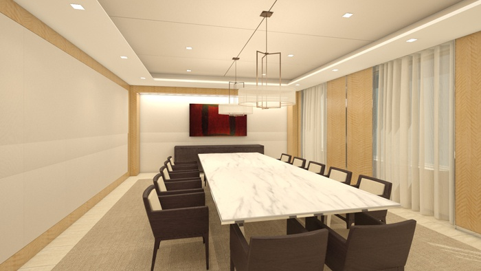 Mẫu thiết kế phòng họp sang trọng số 11