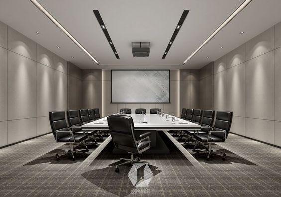 Mẫu thiết kế phòng họp sang trọng số 12