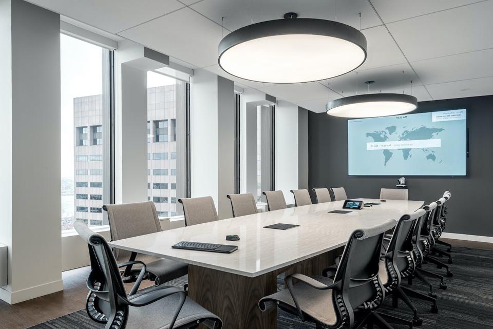 Mẫu thiết kế phòng họp sang trọng số 8
