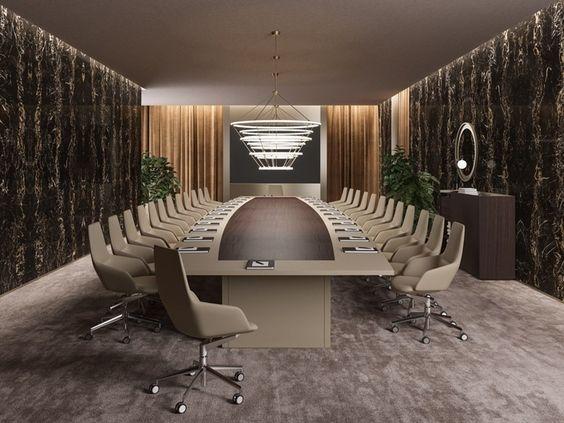 Mẫu thiết kế phòng họp sang trọng số 9