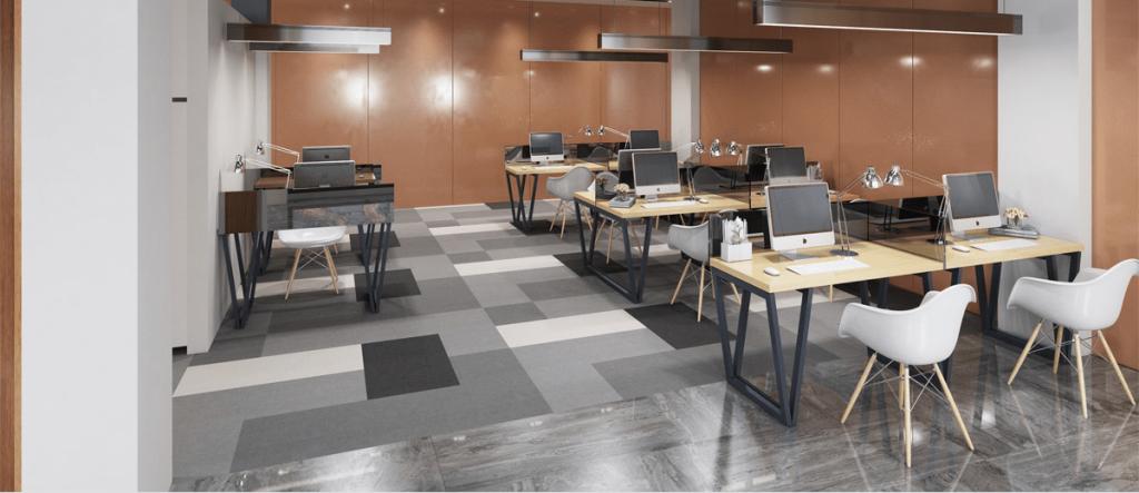 Thiết kế văn phòng nhỏ gọn 40m2 tối giản