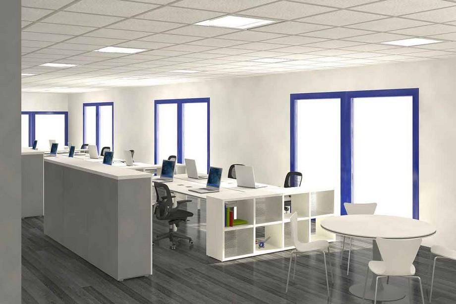Thiết kế không gian văn phòng 50m2
