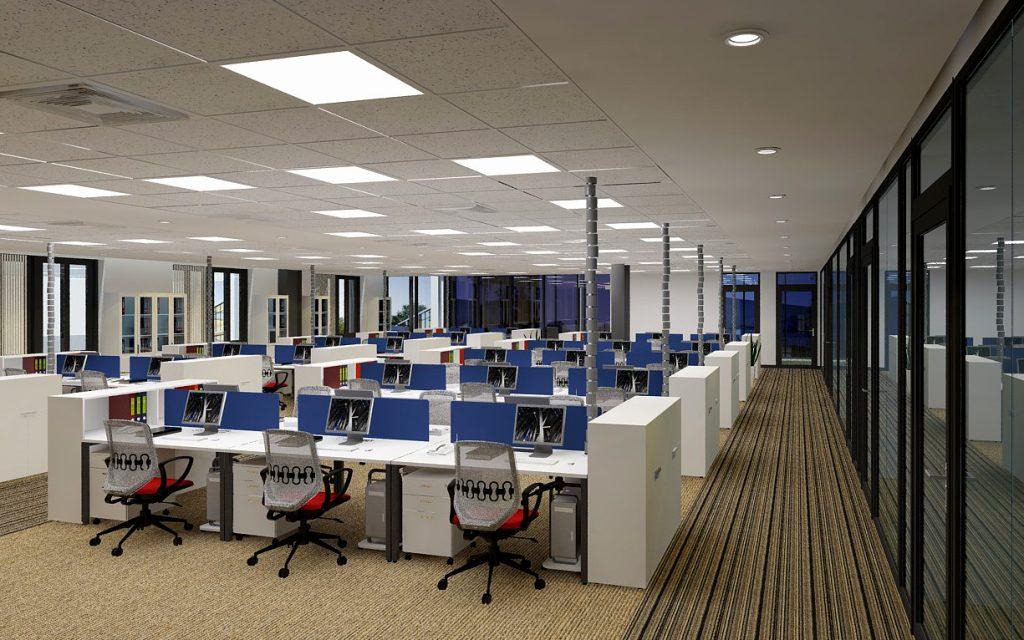 Các phong cách thiết kế nội thất văn phòng được yêu thích nhất 2021