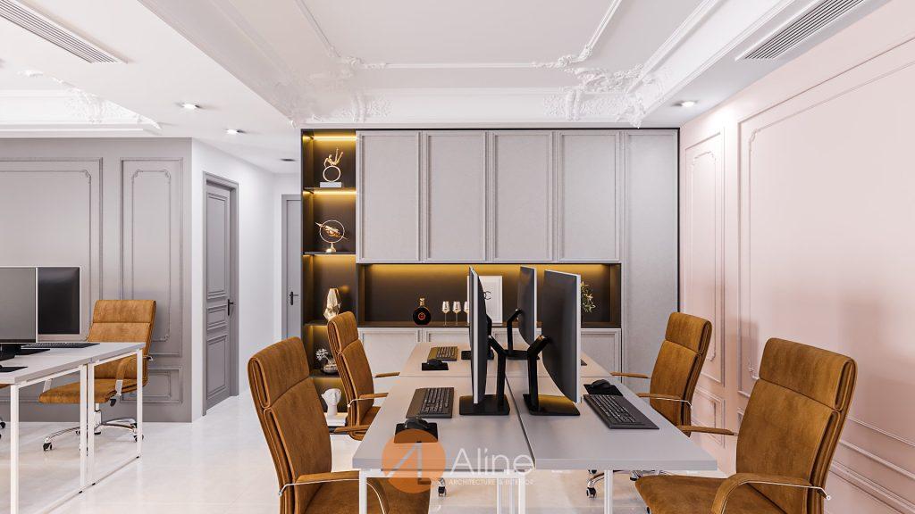 Thiết kế văn phòng phong cách tân cổ điển