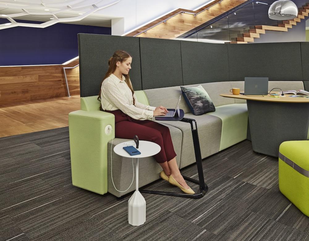 Thiết kế xây dựng văn phòng Agile vẫn đảm bảo được sự riêng tư cho từng cá nhân