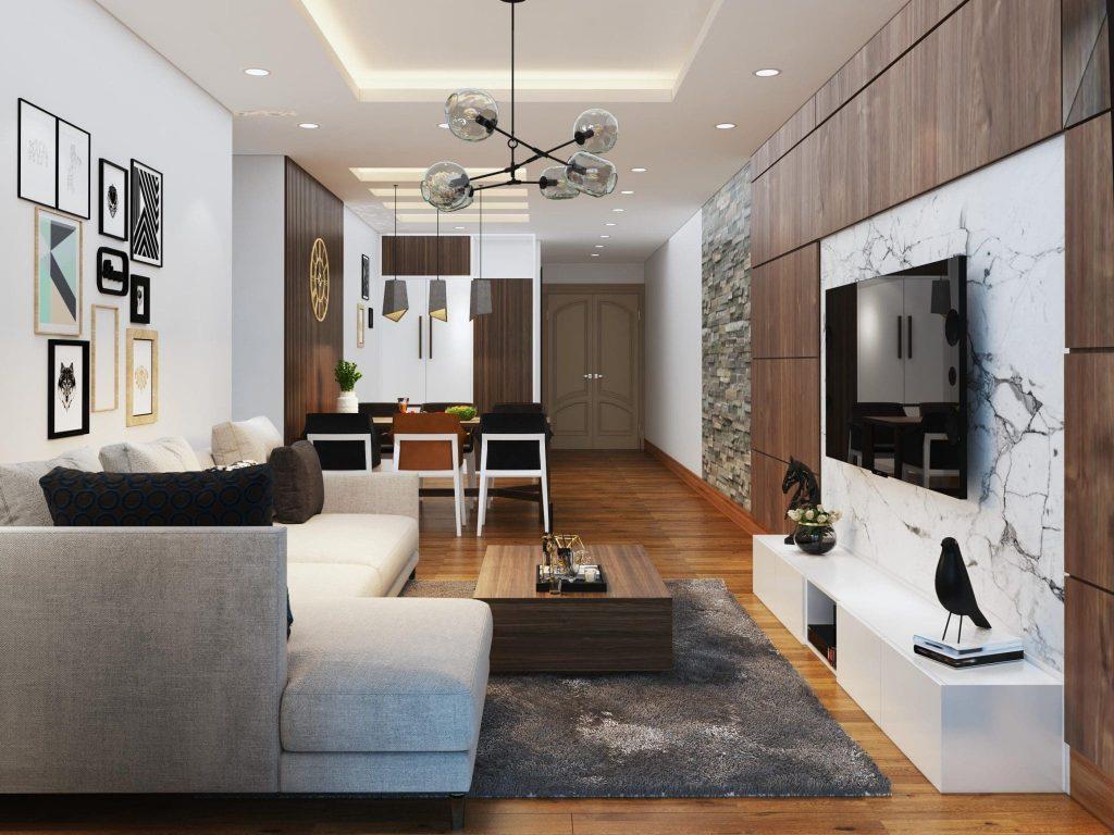 nội thất chung cư 50m2