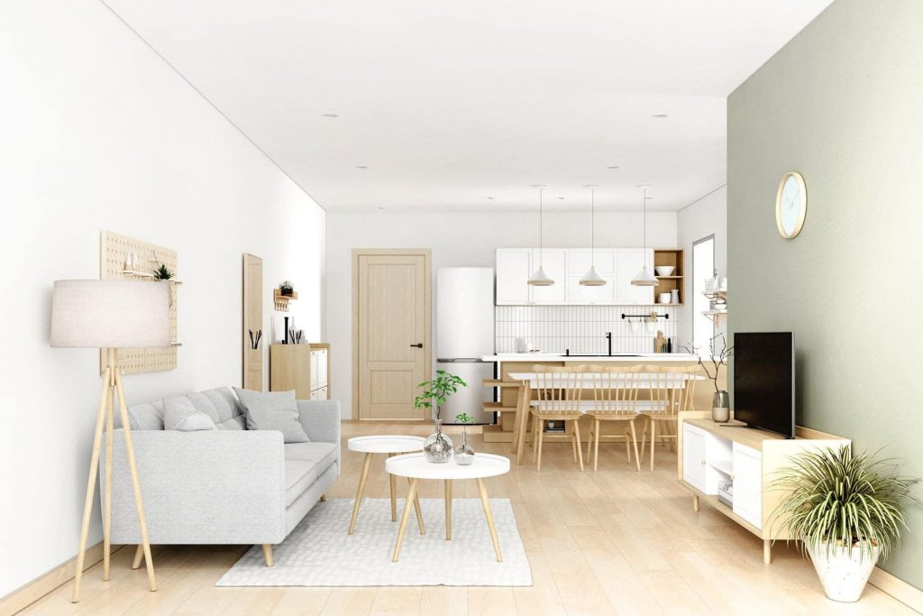 Các nguyên tắc thiết kế nội thất chung cư đẹp và ấn tượng