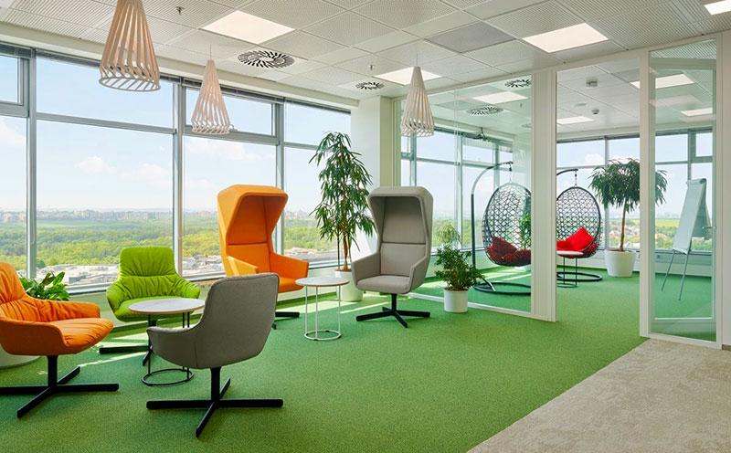 Pantry văn phòng là khu vực nghỉ ngơi thư giãn của nhân viên