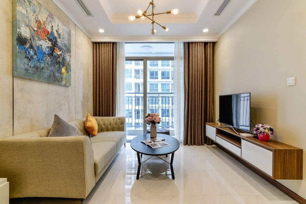 Thiết kế nội thất chung cư 70m2 đẹp và tiện nghi