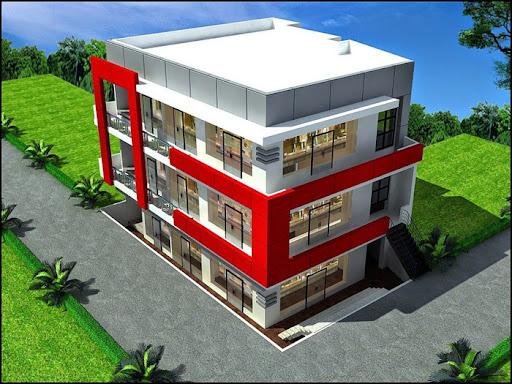 Xu hướng thiết kế mẫu nhà văn phòng 3 tầng